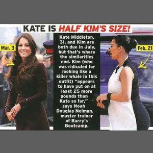 Kate vs Kim